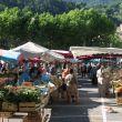 Marché Nyons en Drôme provençale